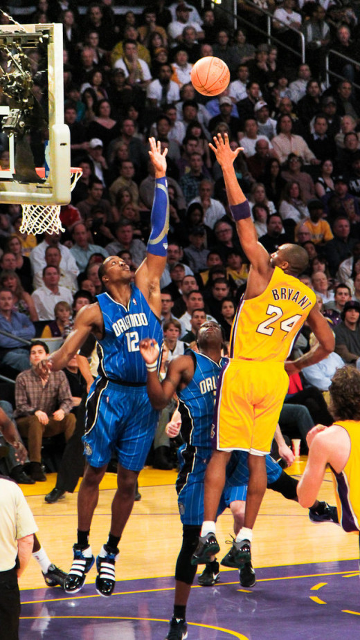 Kobe vs Howard, Lakers vs Magic