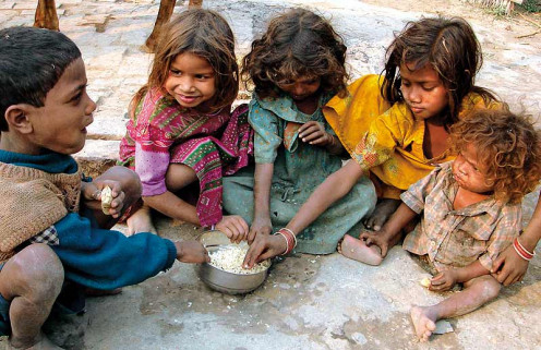 Poverty contributes to lots of children