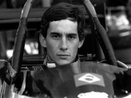 Formula 1 Champion Ayrton Senna