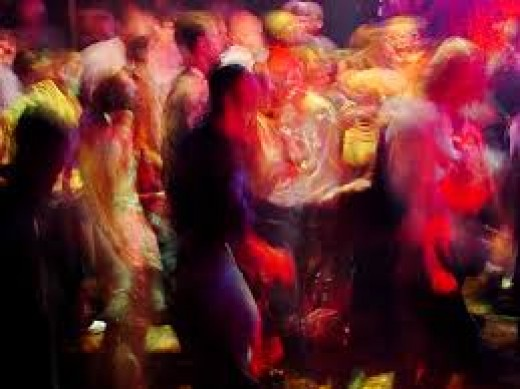 Rave Parties Are Notorious For Use Of The Drug Ecstasy