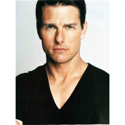 Tom Cruise Poster by Silk Printing # Size about (60cm x 80cm, 24inch x 32inch) # Unique Gift # D8E94E