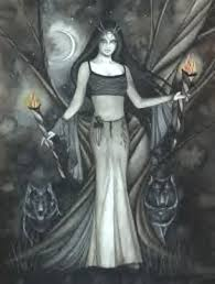 A depiction of Hecate, my goddess.