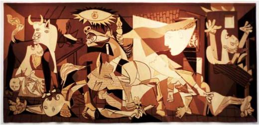 Guernica. An exact reproduction by Marcello.
