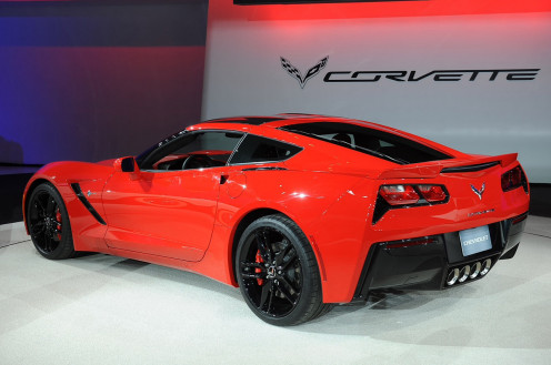 The Chevy Stingray Corvette handles like a dream and it's an eye catcher.