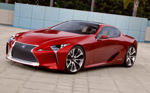 The 2014 Lexus LFA Sports car is obviously a luxury car with speed but it's much more than that.