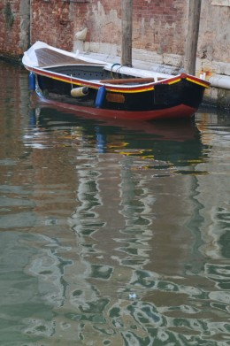 A Lone Boat from Tony DeLorger