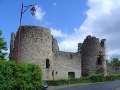 French Castles Chateau de Lastours Limousin France Medieval Festival
