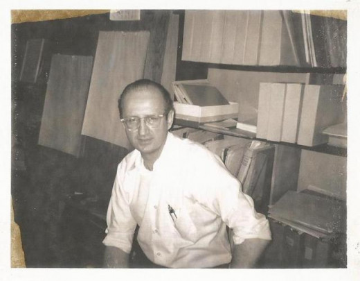 Steve Ditko in the 1970s.