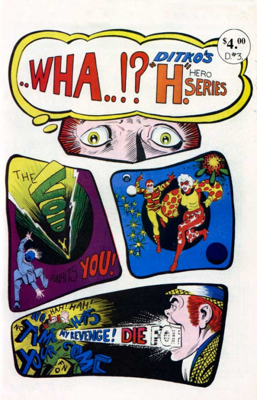 A new, indie Ditko comic from 2011.