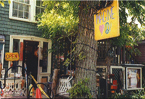 An art shop on Rocky Neck