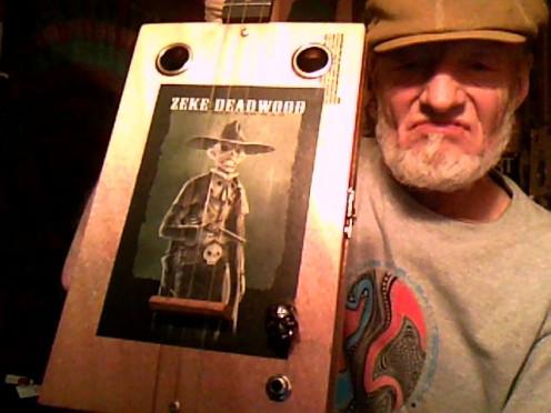 Zeke Deadwood 3 string from Dan at Humidors Guitar