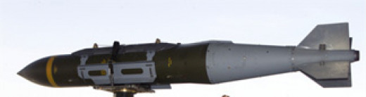 The JDAM is a U.S.-made GPS-guided smart bomb used for destroying surface targets from a distance.