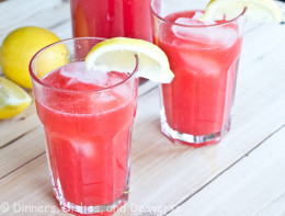 So if you like spritzers as much as I do then stick around so I can share the recipe for a tasty Berry Lemonade Spritzer so if you likes drinks that are refreshing and cools your body down then your in the right place.