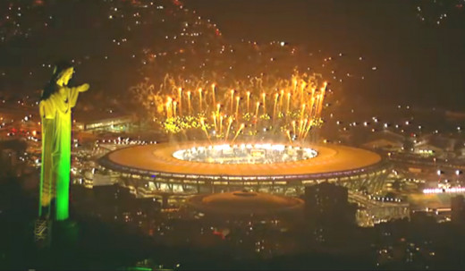 The final was held at the Maracana stadium in Rio de Janeiro.
