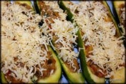 Bear N Mom Recipes - Stuffed Zucchini