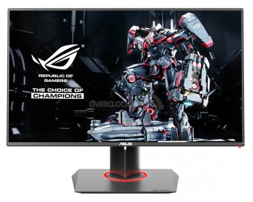 The ASUS ROG Swift PG278Q was the  First monitor with built-in G-Sync. Today, there are several more attractive options.