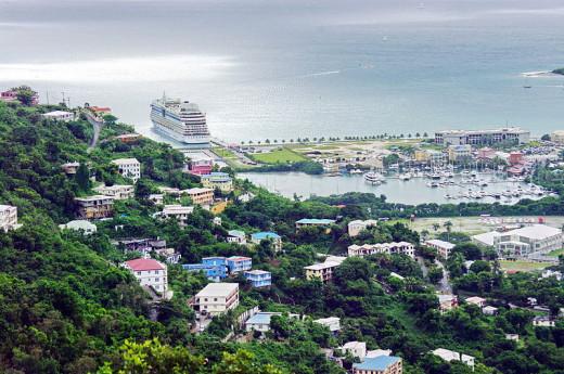 Road Town, Tortola, BVI.  Photo by Bgabel