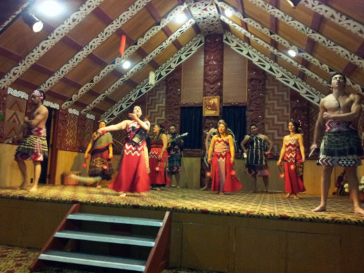 Te Puia Traditional Performance