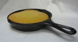Delicious golden cornbread is one of the best classic iron skillet recipes!