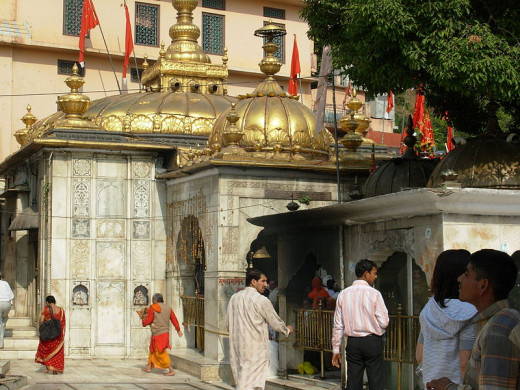 Jwalamukhi temple at Kangra,