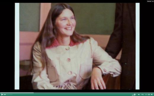 Picture of Nobel Prize winner Elizabeth Blackburn PhD right after getting PhD in biology.