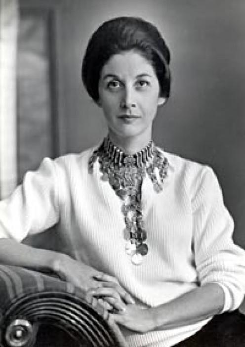 A younger Nadine Gordimer.