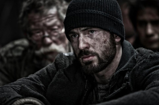 "Captain America gets dirty in the new thriller ""Snowpiercer"""