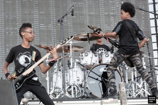 Unlocking the Truth plays at Coachella 2014