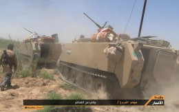 Captured M113's