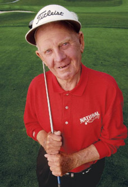 Moe Norman just before he passed away in 2004.