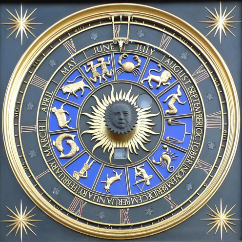 Astrological Clock, Bracken House in London