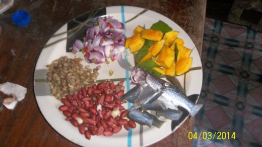 Ingredients For Mango Breakfast