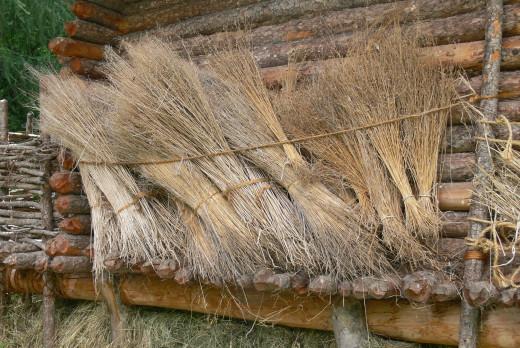 Drying flax