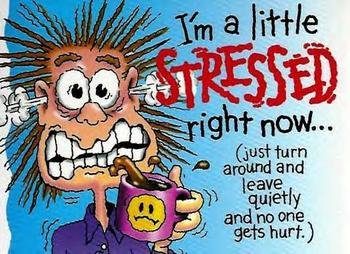 It's normal to get stressed out. Holding on to it for long is not!