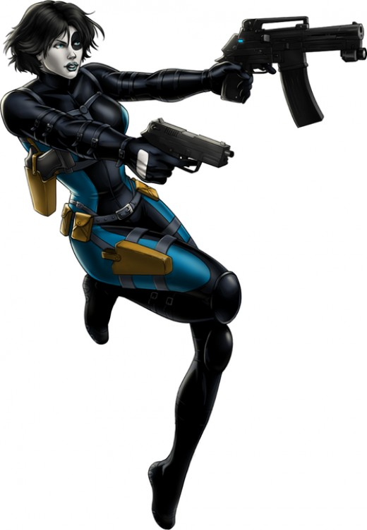 Domino Mercenary Costume