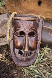 Wooden mask, Himachal Pradesh