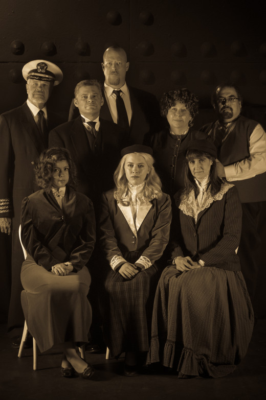"The cast of MTS' ""Titanic the Musical"""