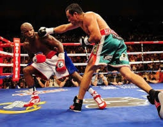 Floyd Mayweather used fast reflexes and superior speed to floor and beat the great Juan Manuel Marquez.