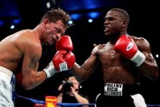 Floyd Mayweather put a boxing lesson and an all out beat down on Arturo Gatti in his first Pay Per View event and won the fight by sixth round T.K.O.