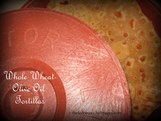Soft and pliable, delicious right off the skillet.  These wholesome tortillas use just 4 ingredients and can be made in 30 minutes without a stand mixer.