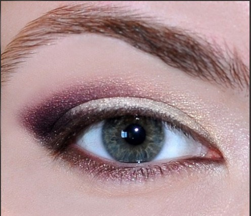 Use shimmery white eye shadow on inner corners