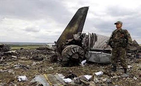 Not much is left of MH 17