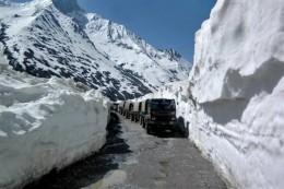 Leh-Ladakh Trecherous road