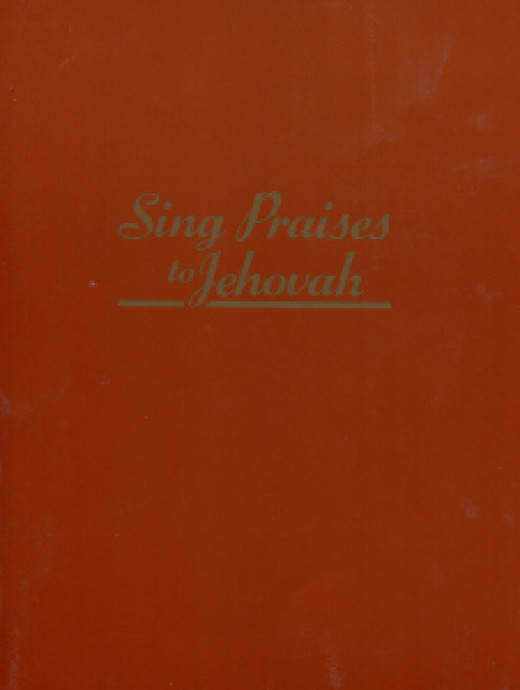 Old edition of the Jehovah's Witness' songs book