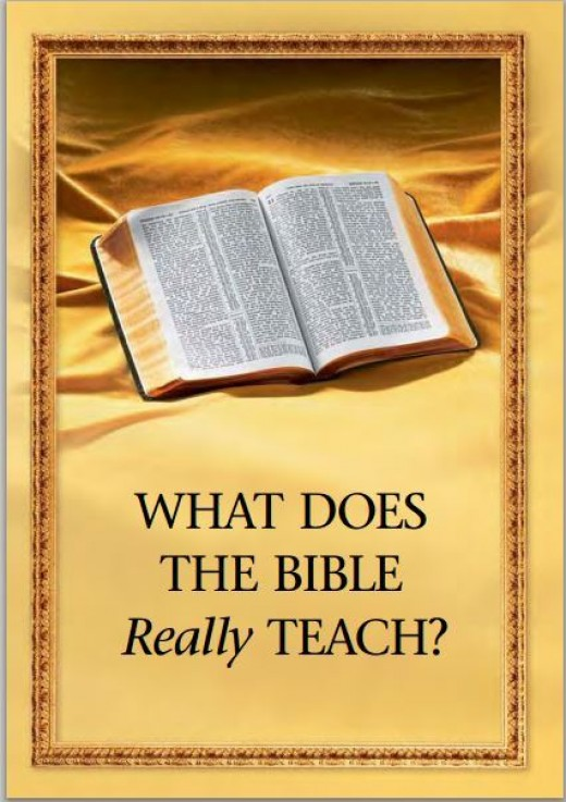 One of the books Witnesses use alongside the bible when preaching. Also used in group studies.