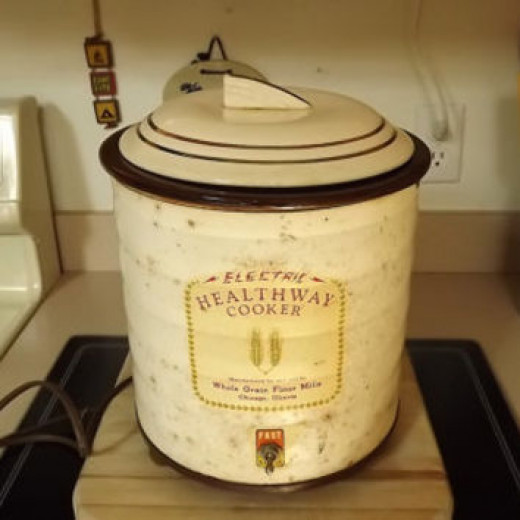 The First All Purpose Cooker - Irving Naxon - Developed by Naxon Utilities Corporation in Chicago, IL.