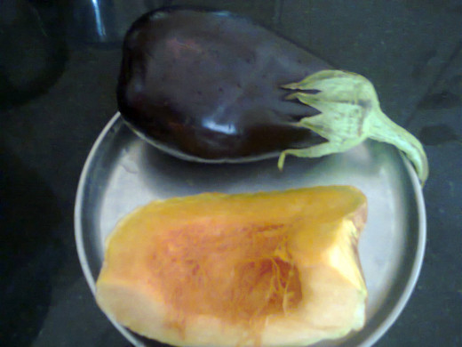 big Brinjal, Pumpkin