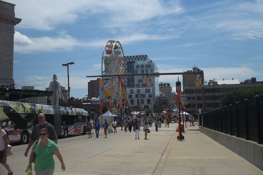Artscape in Baltimore - July 2014