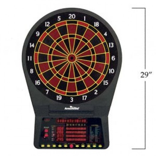 Standard wall mounted electronic dart board approx $230