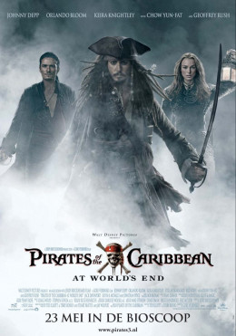 Pirates of the Caribbean- At World's End movie poster